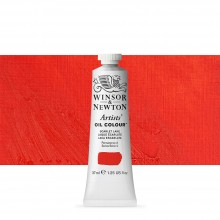 Winsor & Newton : Artists Oil Paint : 37ml : Scarlet Lake
