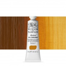 Winsor & Newton : Artists Oil Paint : 37ml : Transparent Gold Ochre