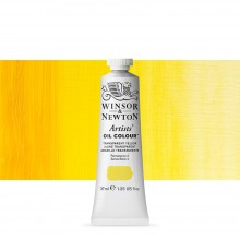 Winsor & Newton : Artists Oil Paint : 37ml Tube : Transparent Yellow