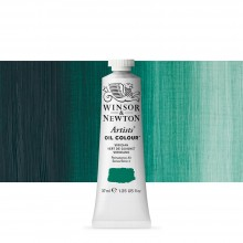 Winsor & Newton : Artists Oil Paint : 37ml Tube : Viridian