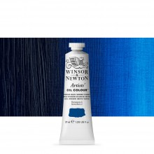 Winsor & Newton : Artists Oil Paint : 37ml Tube : Winsor Blue (Green)