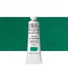 Winsor & Newton : Artists Oil Paint : 37ml : Winsor Emerald