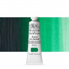 Winsor & Newton : Artists Oil Paint : 37ml Tube : Winsor Green (Yellow)