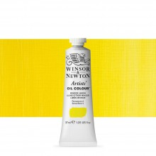 Winsor & Newton : Artists Oil Paint : 37ml Tube : Winsor Lemon