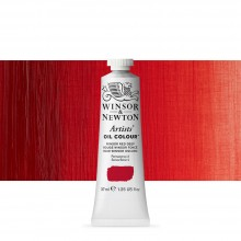 Winsor & Newton : Artists' : Oil Paint : 37ml : Winsor Red Deep