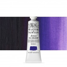 Winsor & Newton : Artists Oil Paint : 37ml Tube : Winsor Violet (Dioxazine)