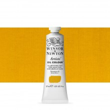 Winsor & Newton : Artists Oil Paint : 37ml Tube : Yellow Ochre Light