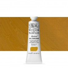 Winsor & Newton : Artists Oil Paint : 37ml : Yellow Ochre Pale