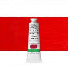 Winsor & Newton : Artists' Oil Paint : 37ml : Cadmium Free Red Deep