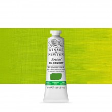 Winsor & Newton : Artists' Oil Paint : 37ml : Cadmium Free Green Pale