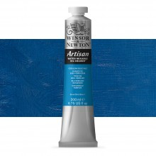Winsor & Newton : Artisan : Water Mixable Oil Paint : 200ml : Cerulean Blue Hue