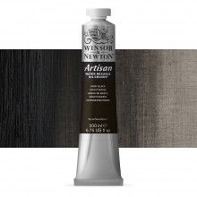 Winsor & Newton : Artisan : Water Mixable Oil Paint : 200ml : Ivory Black