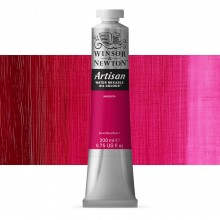 Winsor & Newton : Artisan : Water Mixable Oil Paint : 200ml : Magenta