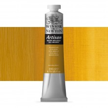 Winsor & Newton : Artisan : Water Mixable Oil Paint : 200ml : Yellow Ochre