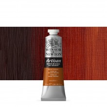 Winsor & Newton : Artisan Water Mixable Oil Paint : 37ml : Burnt Sienna