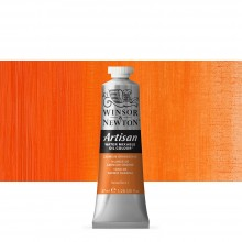 Winsor & Newton : Artisan Water Mixable Oil Paint : 37ml : Cadmium Orange Hue
