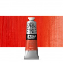 Winsor & Newton : Artisan : Water Mixable Oil Paint : 37ml : Cadmium Red Hue