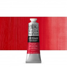 Winsor & Newton : Artisan : Water Mixable Oil Paint : 37ml : Cadmium Red Deep Hue