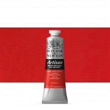 Winsor & Newton : Artisan : Water Mixable Oil Paint : 37ml : Cadmium Red Medium