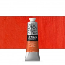 Winsor & Newton : Artisan Water Mixable Oil Paint : 37ml : Cadmium Red Light