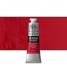 Winsor & Newton : Artisan : Water Mixable Oil Paint : 37ml : Cadmium Red Dark