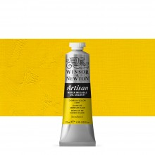 Winsor & Newton : Artisan : Water Mixable Oil Paint : 37ml : Cadmium Yellow Light