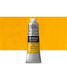 Winsor & Newton : Artisan : Water Mixable Oil Paint : 37ml : Cadmium Yellow Medium