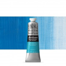 Winsor & Newton : Artisan Water Mixable Oil Paint : 37ml : Cerulean Blue