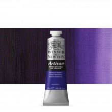 Winsor & Newton : Artisan Water Mixable Oil Paint : 37ml : Dioxazine Purple