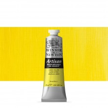 Winsor & Newton : Artisan : Water Mixable Oil Paint : 37ml : Lemon Yellow