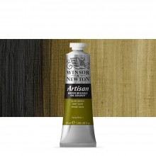 Winsor & Newton : Artisan : Water Mixable Oil Paint : 37ml : Olive Green