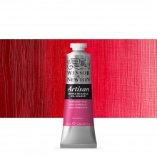 Winsor & Newton : Artisan : Water Mixable Oil Paint : 37ml : Permanent Rose