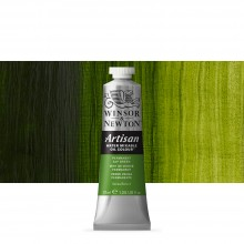 Winsor & Newton : Artisan Water Mixable Oil Paint : 37ml : Permanent Sap Green