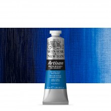 Winsor & Newton : Artisan : Water Mixable Oil Paint : 37ml : Phthalo Blue