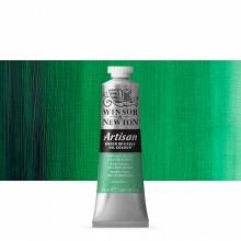 Winsor & Newton : Artisan Water Mixable Oil Paint : 37ml : Phthalo Green