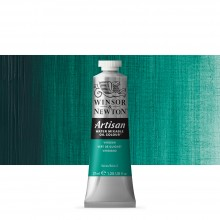 Winsor & Newton : Artisan : Water Mixable Oil Paint : 37ml : Viridian