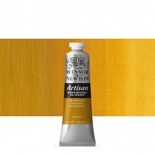 Winsor & Newton : Artisan : Water Mixable Oil Paint : 37ml : Yellow Ochre