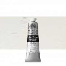 Winsor & Newton : Artisan : Water Mixable Oil Paint : 37ml : Zinc White