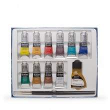 Winsor & Newton : Artisan : Water Mixable Oil Paint : Studio Set of 10x37ml