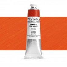 Williamsburg : Oil Paint : 150ml : Permanent Red-Orange