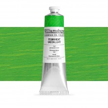 Williamsburg : Oil Paint : 150ml : Permanent Green Light