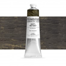 Williamsburg : Oil Paint : 150ml : Davy's Grey Deep
