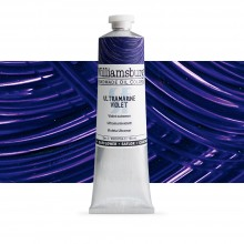Williamsburg : Oil Paint : 150ml : Safflower Ultramarine Violet