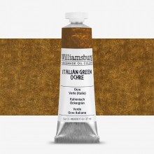 Williamsburg : Oil Paint : 37ml Italian Green Ochre