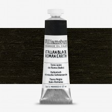 Williamsburg : Oil Paint : 37ml Italian Black Roman Earth