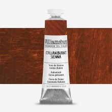 Williamsburg : Oil Paint : 37ml Italian Burnt Sienna