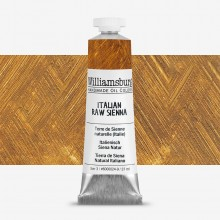 Williamsburg : Oil Paint : 37ml : Italian Raw Sienna