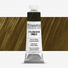Williamsburg : Oil Paint : 37ml Italian Raw Umber