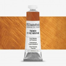 Williamsburg : Oil Paint : 37ml French Ochre Havane