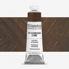 Williamsburg : Oil Paint : 37ml French Brown Ochre